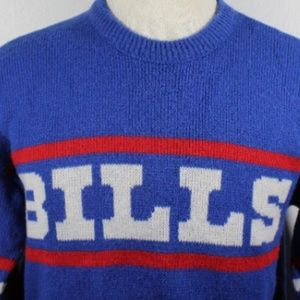 Cliff engle Sweaters - Vintage Cliff Engle Buffalo Bills Blue Coach s Swe 22d25bccb